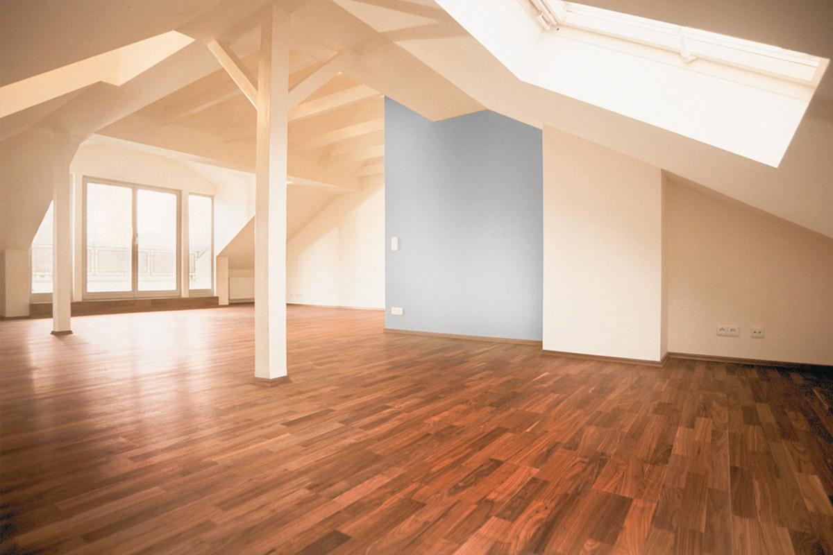 Frankfurt Dachgeschossausbau Planung