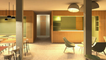 Steinbach, Café, Visualisierung