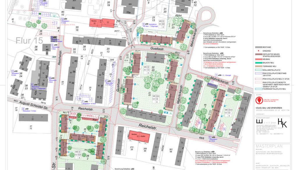 Frankfurt-Ginnheim, Nachverdichtung, Planung