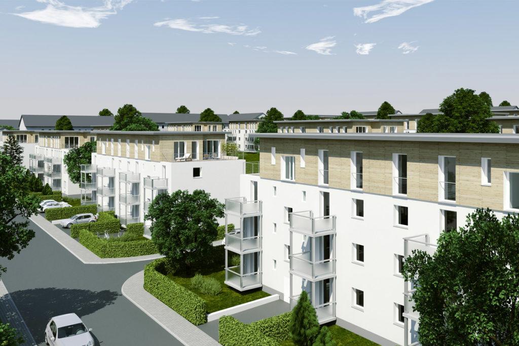 Bad Homburg, Nachverdichtung, Planung