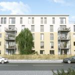 Frankfurt-Bockenheim, Franz-Rücker-Allee, Aufstockung, zweigeschossig, Planung