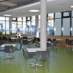 Frankfurt, Neubau Kantine, Innenarchitektur