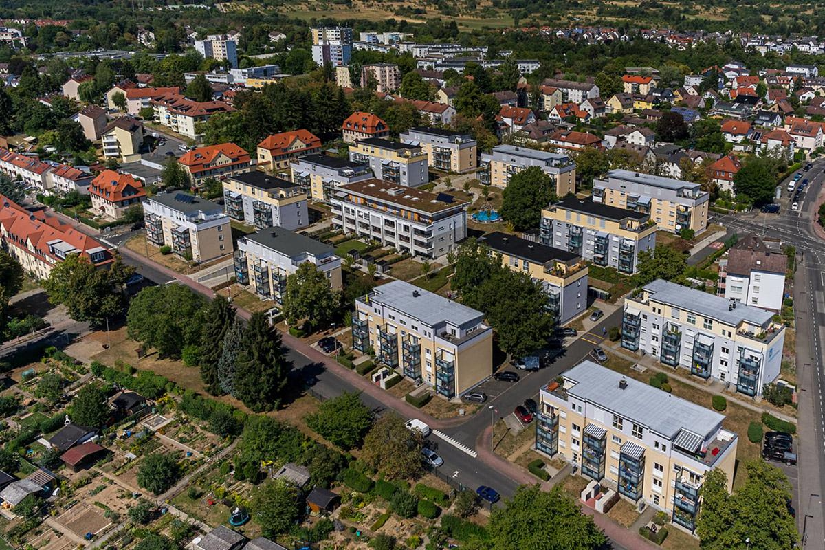 Bad Homburg, Aufstockung 26 Wohnungen
