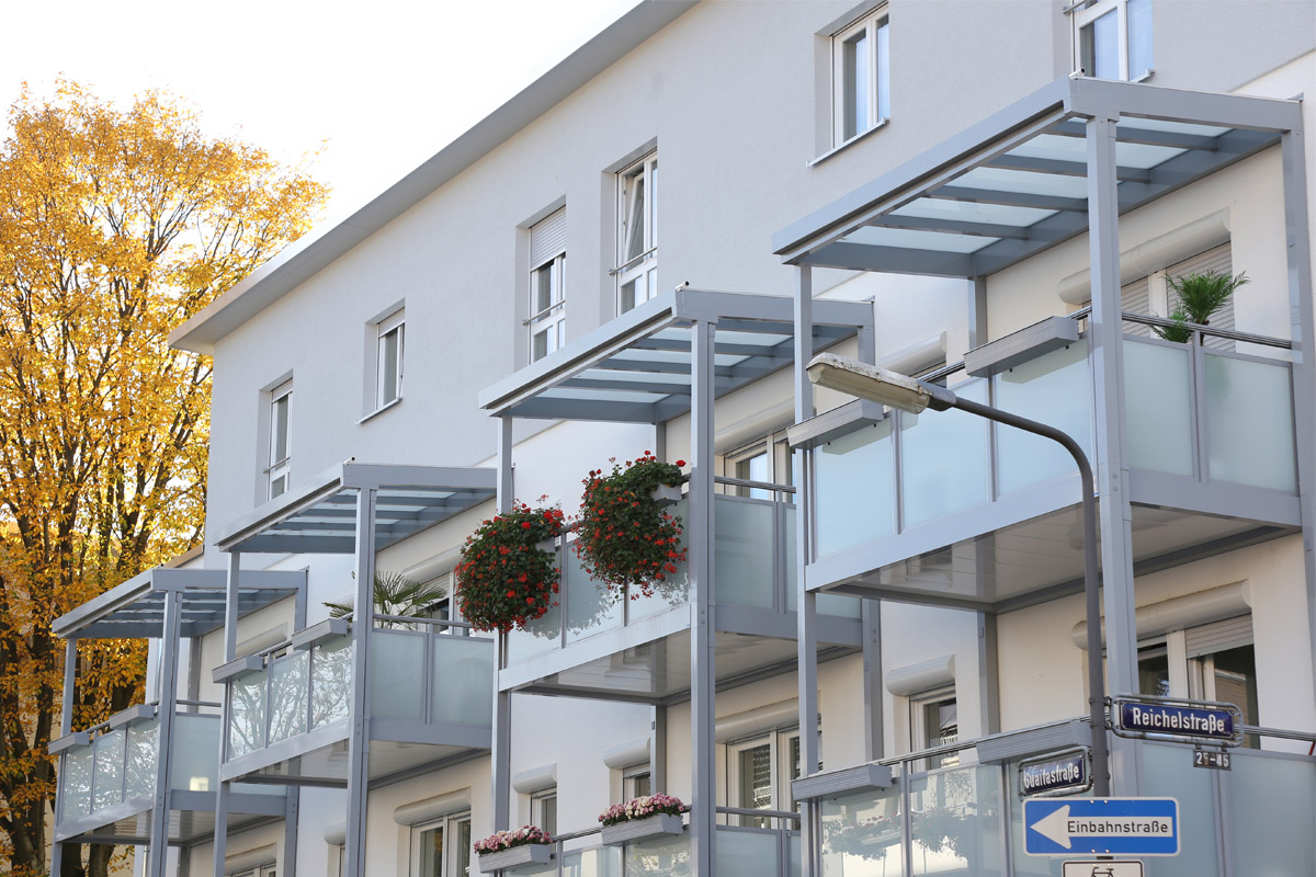 Frankfurt-Ginnheim nachher Detail