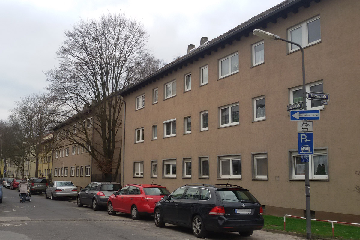 Frankfurt-Ginnheim vorher